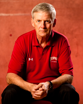 Denver Pioneers Head Lacrosse Coach Bill Tierney