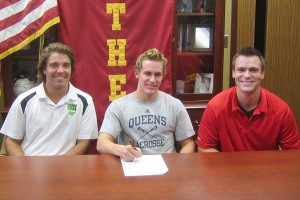 Kevin Lining Troy Athens Lacrosse Queens University