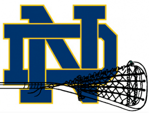 Notre Dame Fighting Irish Lacrosse Logo