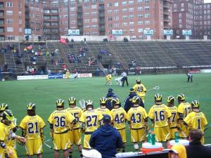 Michigan Wolverines Johns Hopkins Blue Jays lacrosse Homewood Field