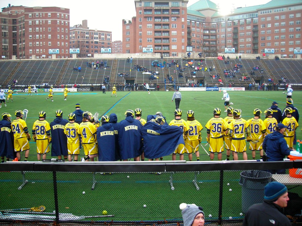 Historic Homewood Field Michigan Wolverines Johns Hopkins Blue Jays lacrosse